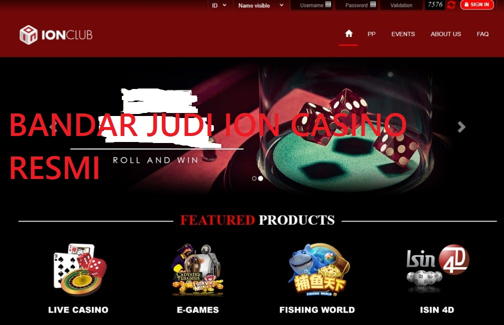 Keunggulan Situs Ion Club Terpopuler di Indonesia